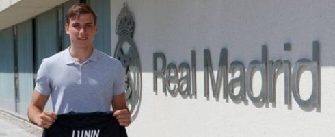 """Офіційно. Лунін  підписав контракт з """"Реалом"""""""