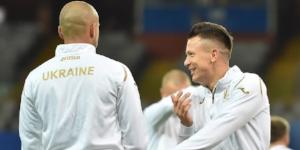 Тренування збірної України перед матчем з Італією (ФОТО)