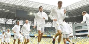 Відкрите тренування України перед Словаччиною