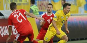 Блискуча перемога збірної України над сербами (ФОТО)