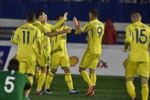 Збірна України утовариському матчі незмогла обіграти Саудівську Аравію
